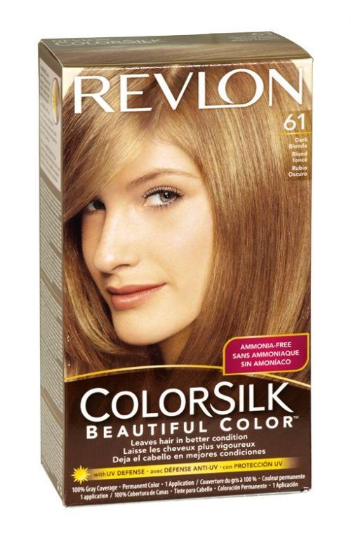 Revlon Colorsilk Hair Colour 61 Dark Blonde Revlon Colorsilk Hair Color Dark Blonde Hair Color