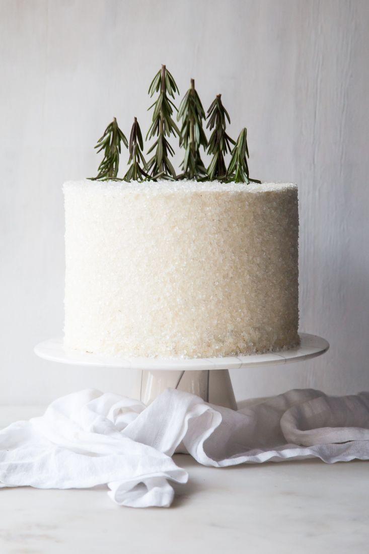 Winter Chocolate Peppermint Cake Cake Pinterest Gateau Noel