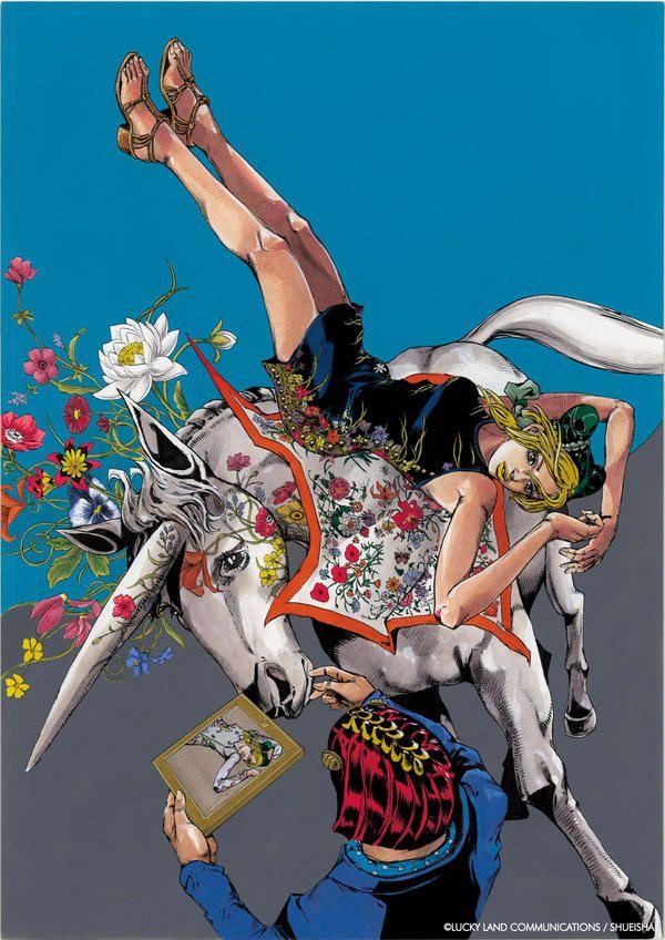 Gucci x Hirohiko Araki in 2020