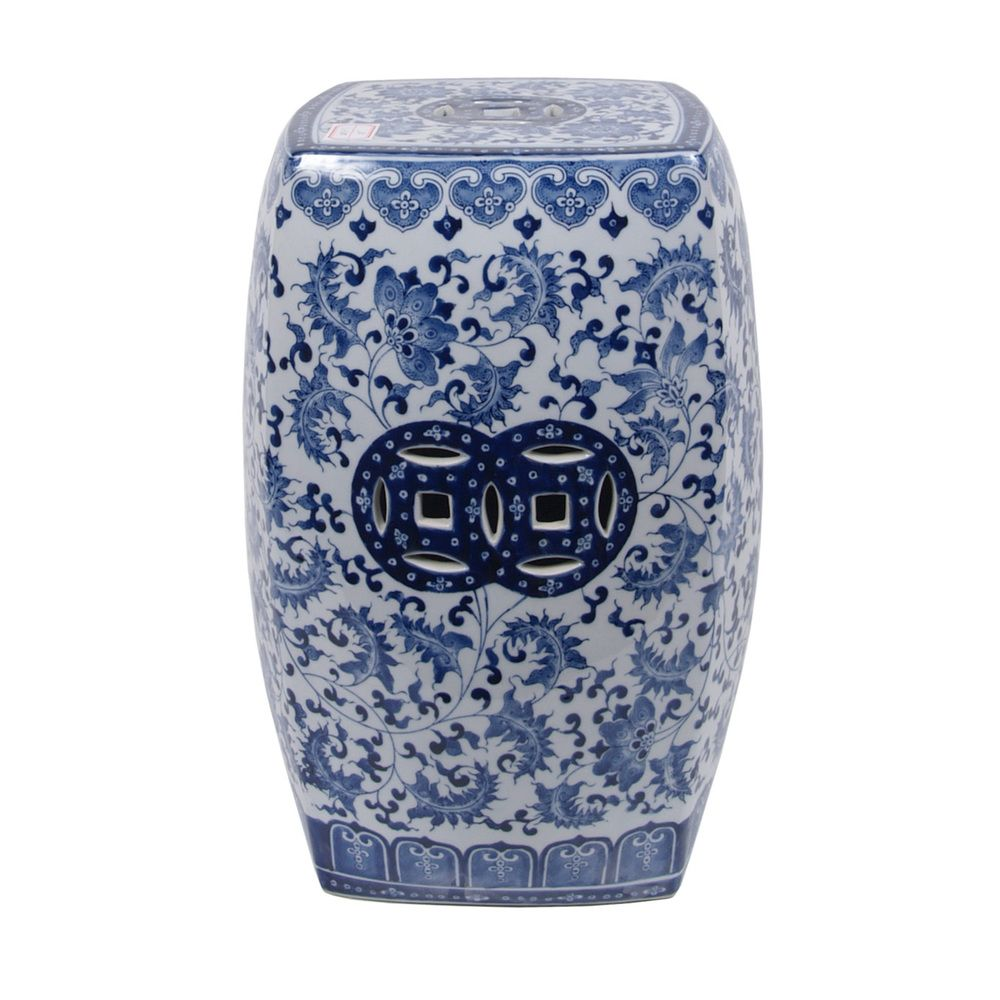 Ceramic Garden Stool | Overstock™ Shopping - Big Discounts on ...