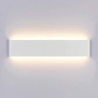 Yafido Led Wall Lights Up Down Brushed Silver Sconce Aluminium Acrylic Wall Lamp 14w Warm White Indoor Wall Wash L Wall Wash Lighting Led Wall Lights Wall Lamp
