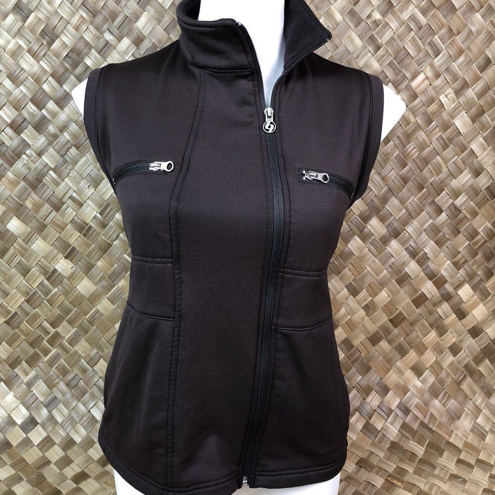 adidas fleece vest