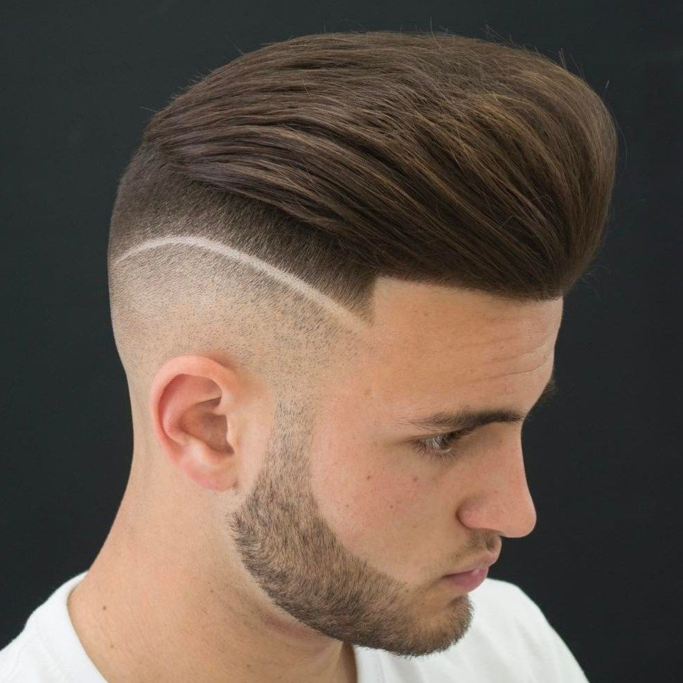 20 Types of Fade Haircuts That Are Trendy Now | Undercut hairstyles,  Pompadour fade haircut, Mens hairstyles undercut