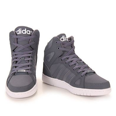 394cd0d01d8 Tênis Casual Masculino Adidas Hoops Team Mid - Grafite