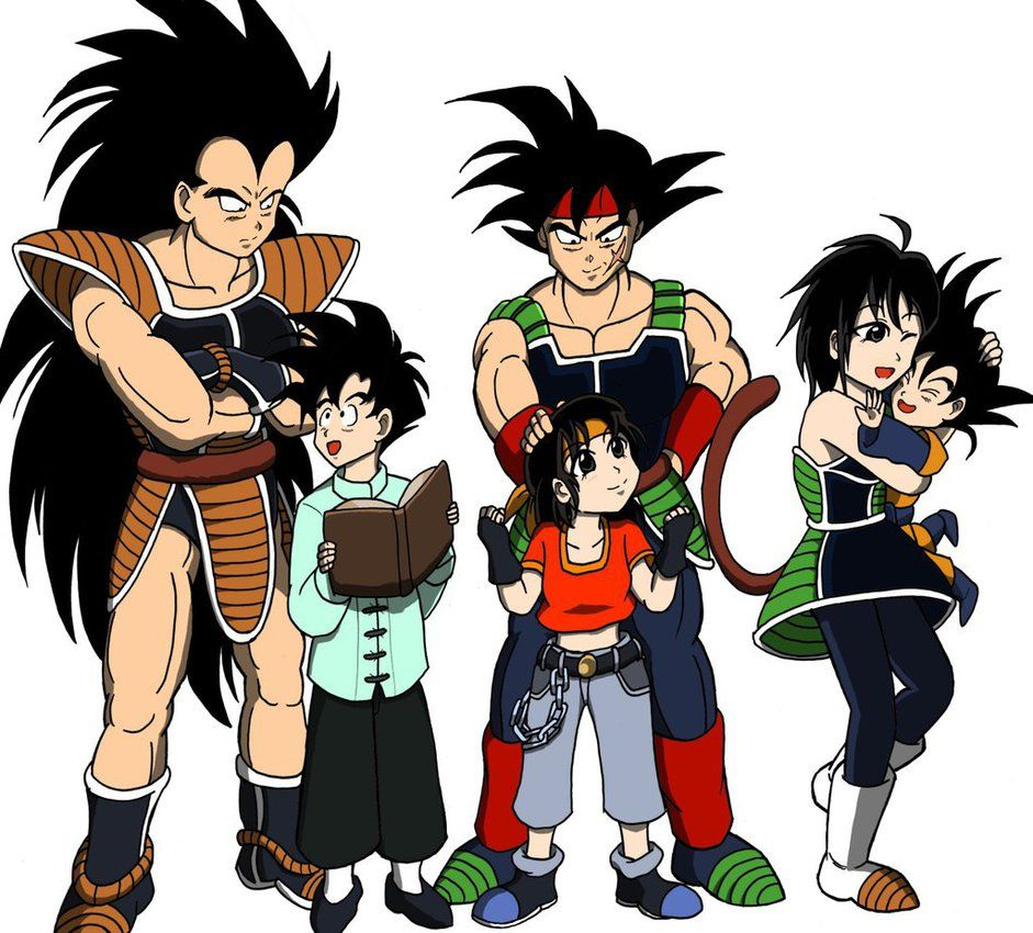 The Saiyan Son Family By Https Rjackson244 Deviantart Com On Deviantart Dragon Ball Super Manga Anime Dragon Ball Super Dragon Ball Art