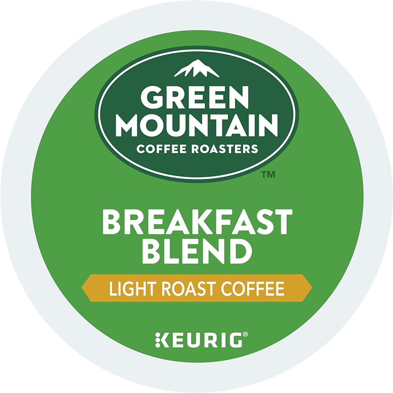 Green Mountain Coffee Roasters Breakfast Blend Single