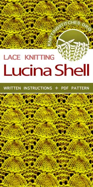 Lucina Shell K1 Dc2 Techniques Stitches And Helpful Know Hows