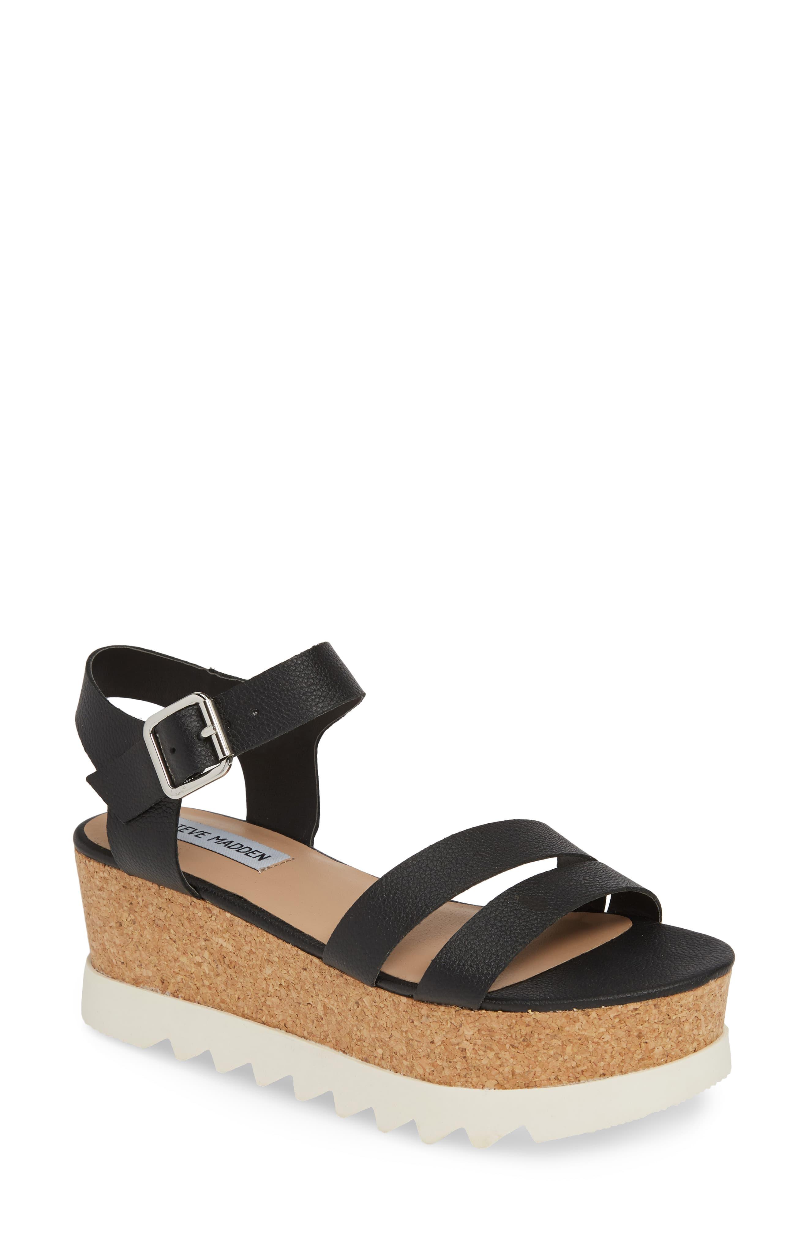 f395cfe2f202f Women's Steve Madden Keykey Platform Wedge Sandal, Size 6.5 M ...