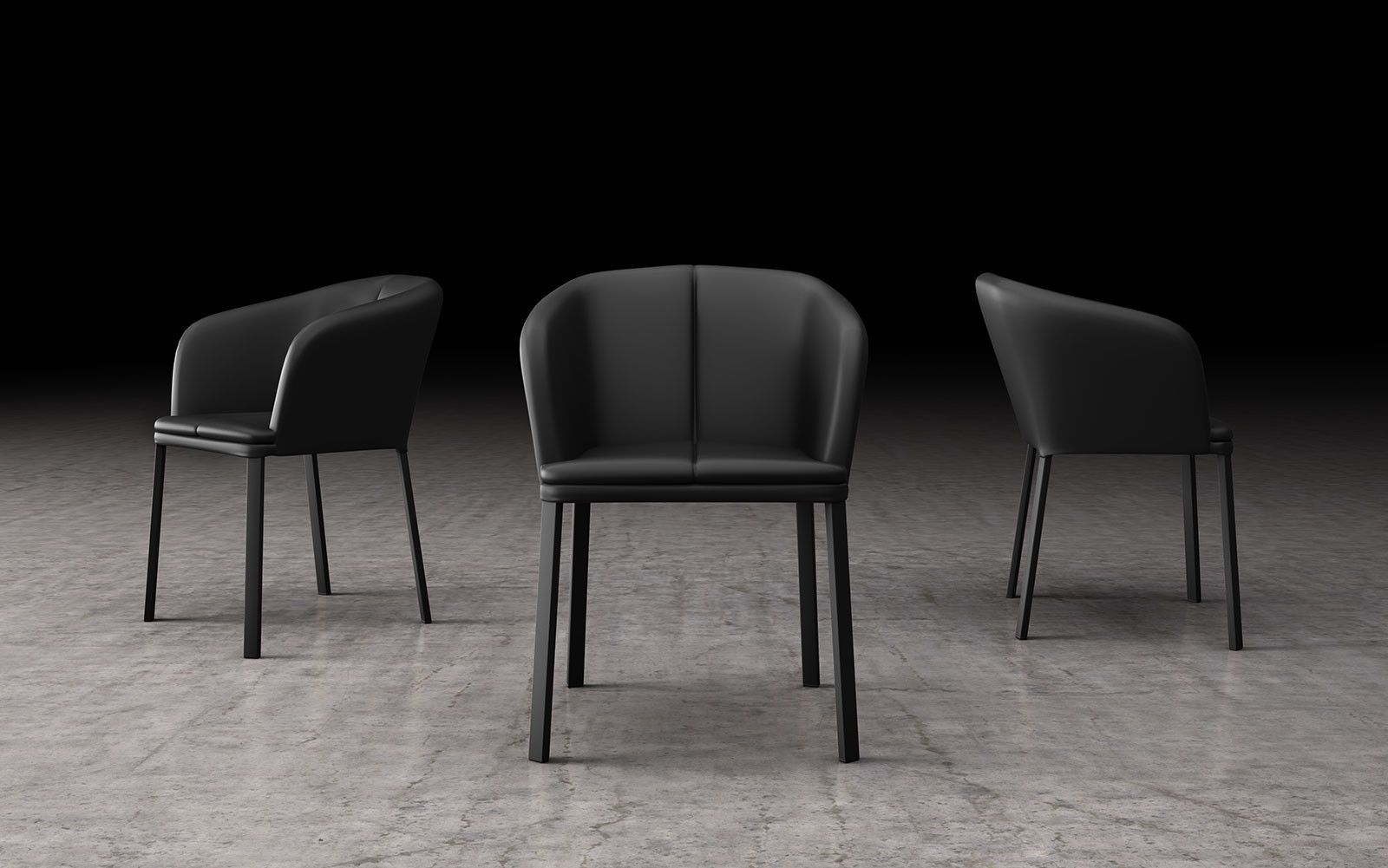 Costantini Sedie ~ Charm contemporary seating collection by costantini pietro