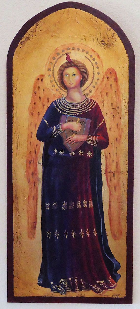 Renaissance Angel in the style of Fra Angelico | Angels ... Angel Painting Renaissance