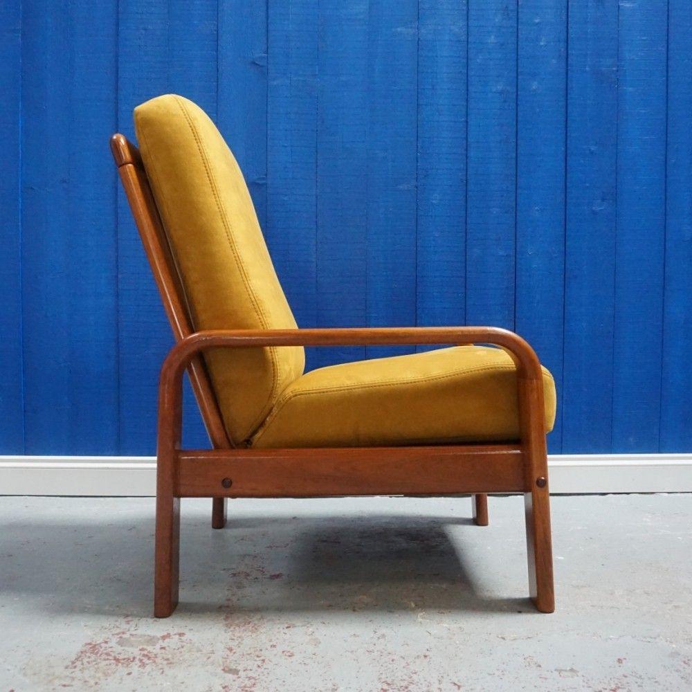For Sale Danish Teak Mid Century Armchair From 1970