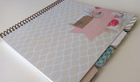 Wedding anniversary journal first anniversary gift paper