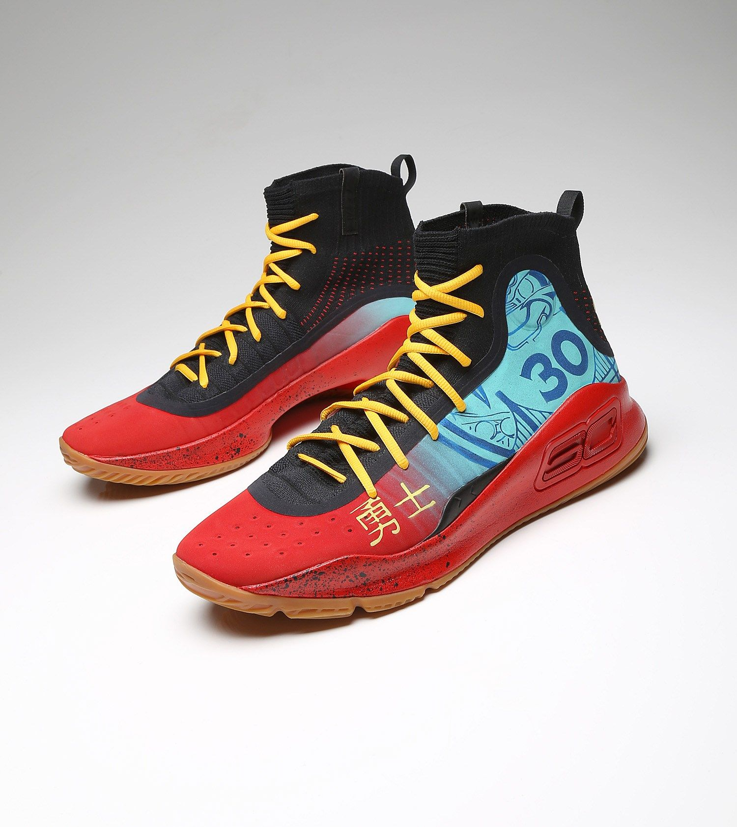 Stephen Curry S Exact Chinese New Year Under Armour Curry 4 In 2020 Kicks Curry 4 Stephen Curry