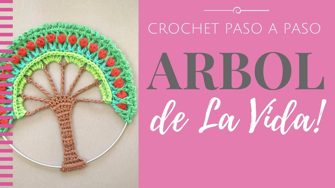 ARBOL DE LA VIDA EN CROCHET - Paso a Paso por mamaQuilla   crochet y ...