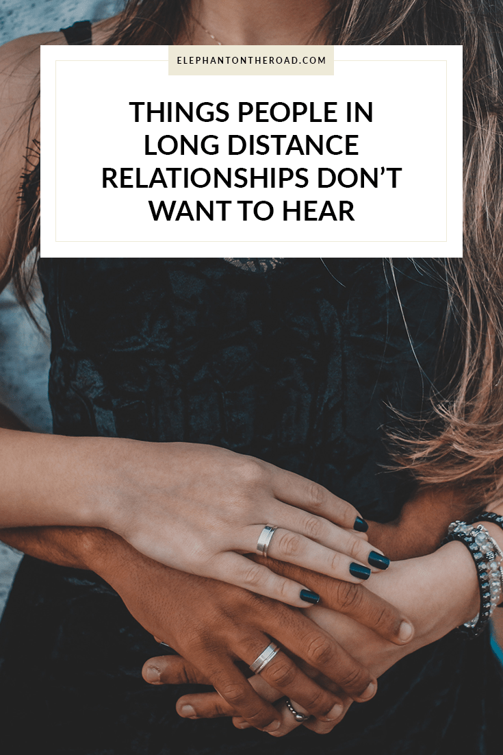 long distance dating issues