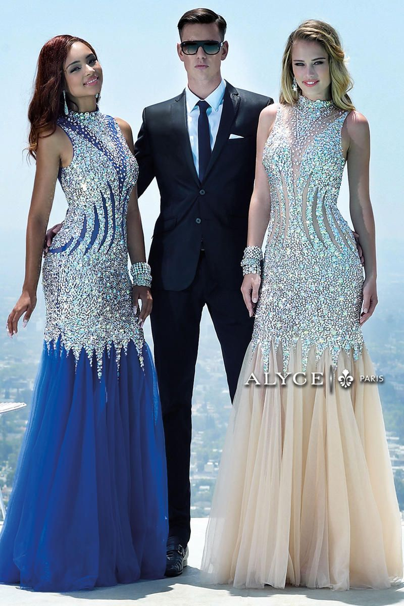 ALYCE | ROYAL OR CHAMPAGNE? | Prom 2016 | Party Dress Express | 657 ...
