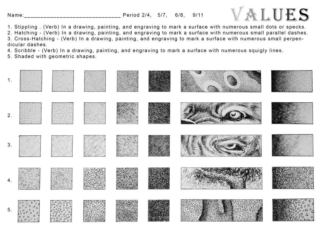 Value Scale Worksheet Worksheets For All