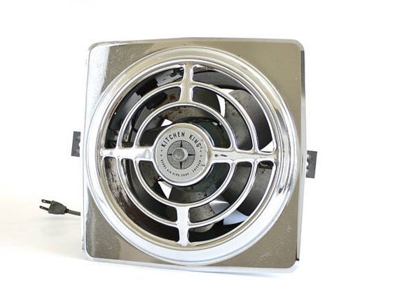 Berns Air King Kitchen Exhaust Fan Vintage 1940s 1950s Exhaust