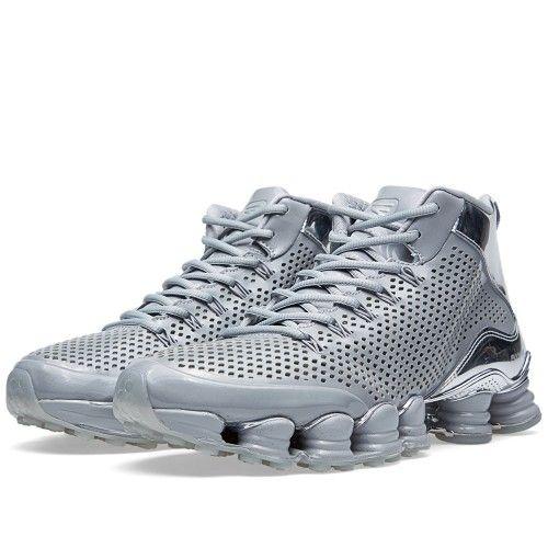 official photos 9715d 409f4 Nike Shox TLX Mid SP (Silver) | Nike | Nike shox, Nike ...