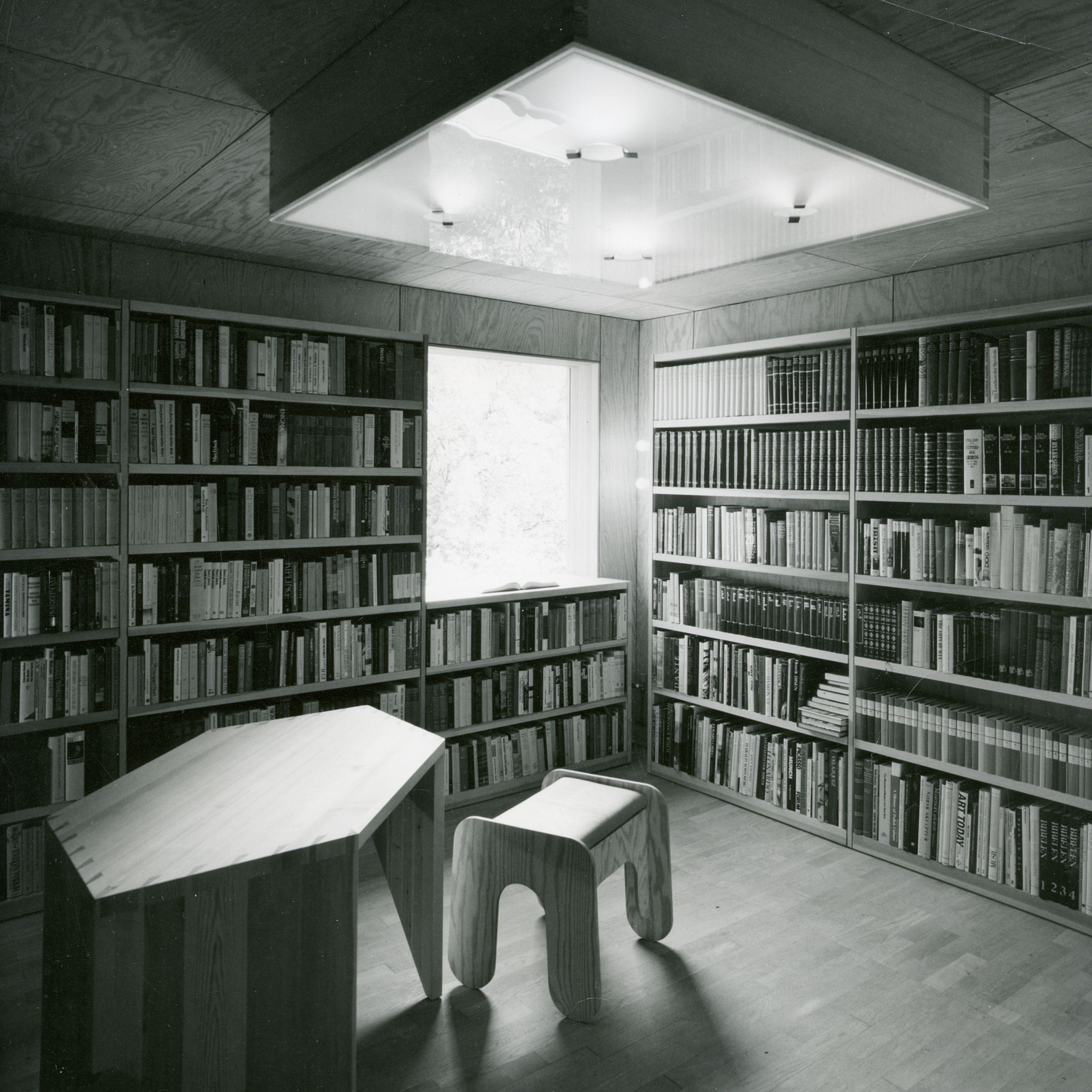 Bibliotek - Gion A. Caminada
