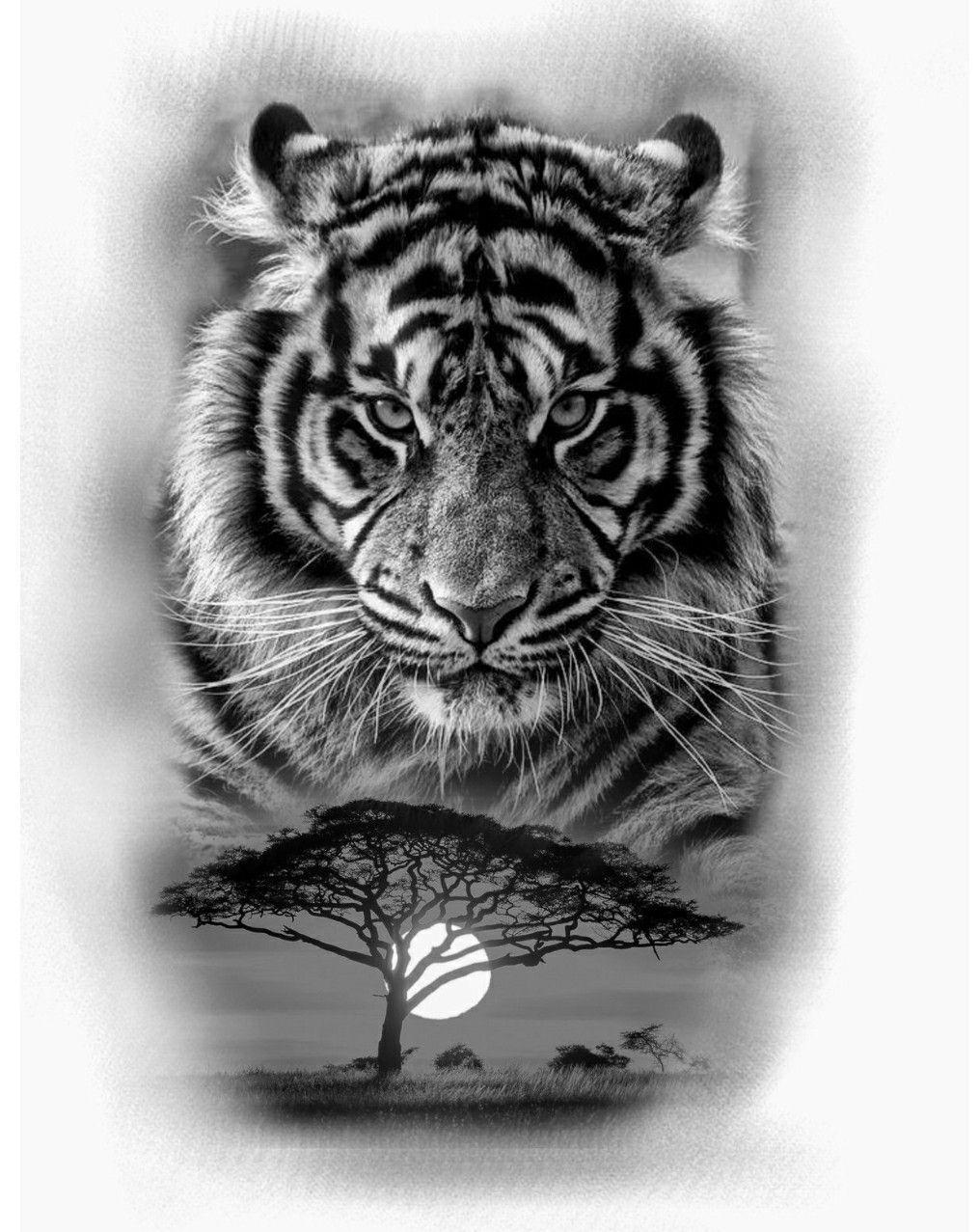 Realistic Tiger Half Sleeve Best Tattoo Design Ideas We Use Cookies On Tattoo Ideas To Ensure That We G Tiger Tattoo Design Cat Tattoo Designs Animal Tattoos