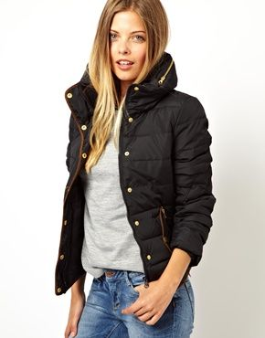 Vero Moda Padded Jacket... just got this! | Fashion | Pinterest | Padded  jacket, Vero moda and Moda