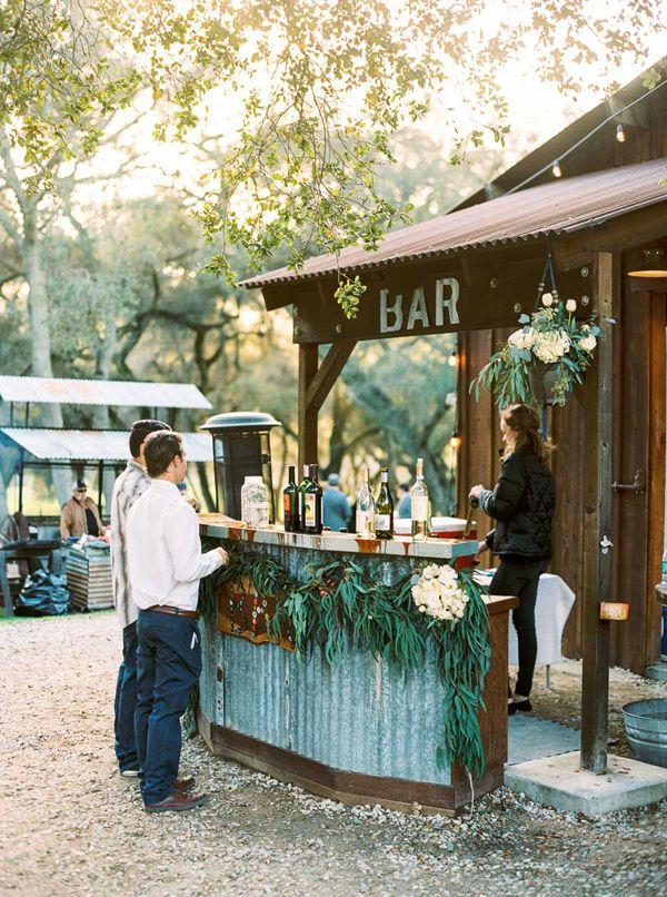 arroyo grande barn wedding party pinterest matrimonio bar