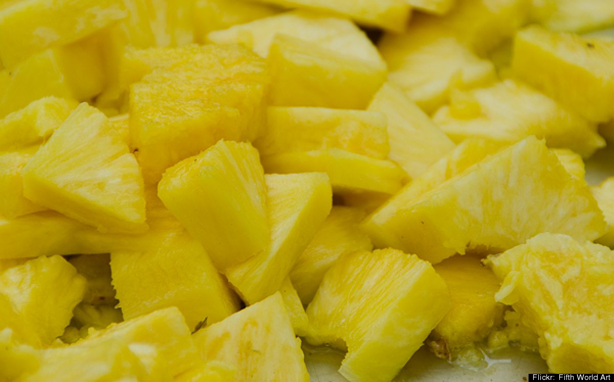 Pineapple - A cup of pineapple chunks contains over 130 percent of your recommended daily intake of vitamin C for a healthy immune system.