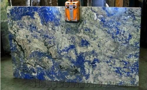 Sodalite Blue Granite Slabs And Tile Namibia Blue Granite From China Stonecontact Com Blue Granite Blue Granite Countertops Granite Countertops