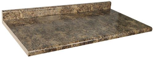 8 ft jamocha granite laminate countertop variation for Granite countertop width