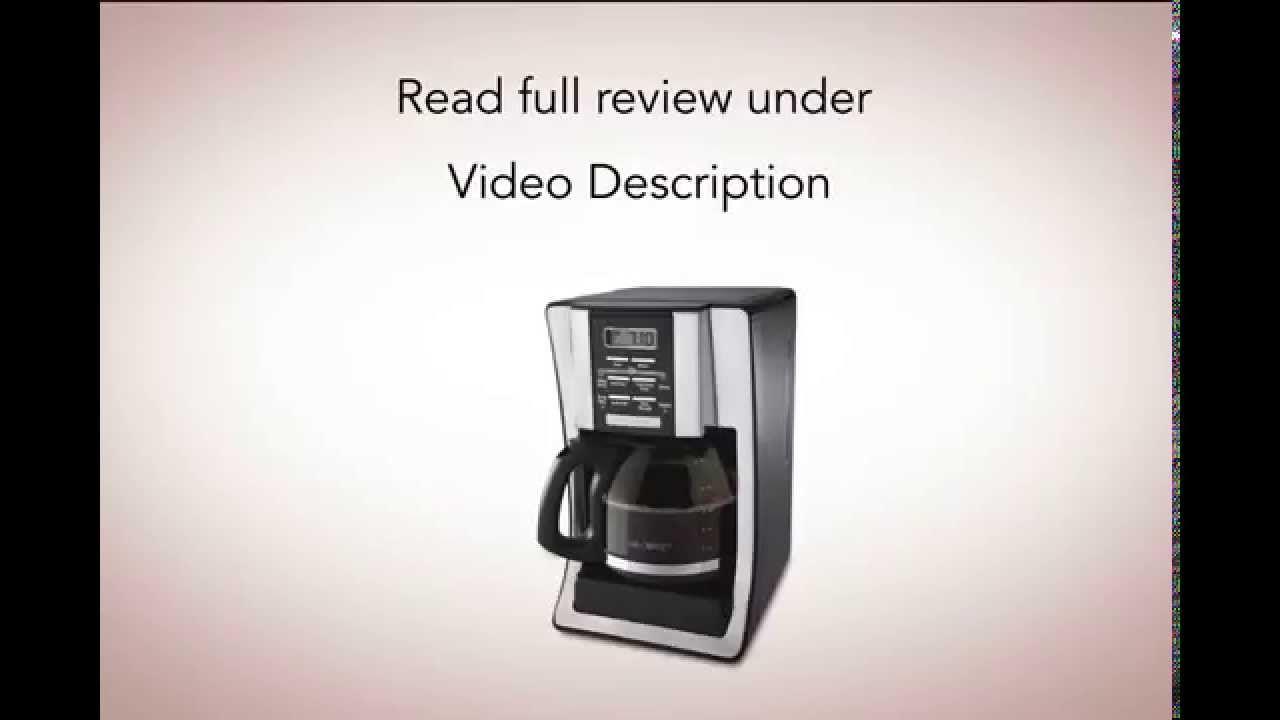 Mr coffee bvmc sjx33gt 12 cup best drip coffee maker mr