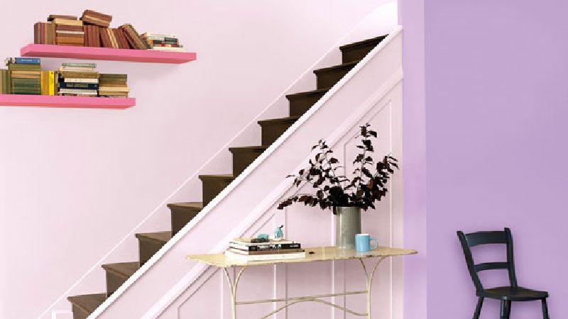Chambre taupe lit couleur chocolat et parme salons for Interieur maison deco