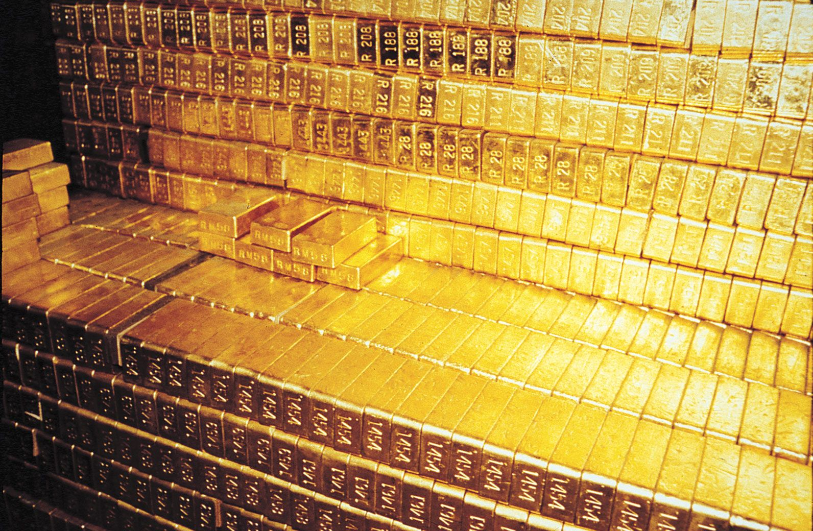 The suppoosed Gold Bars at Fort Knox