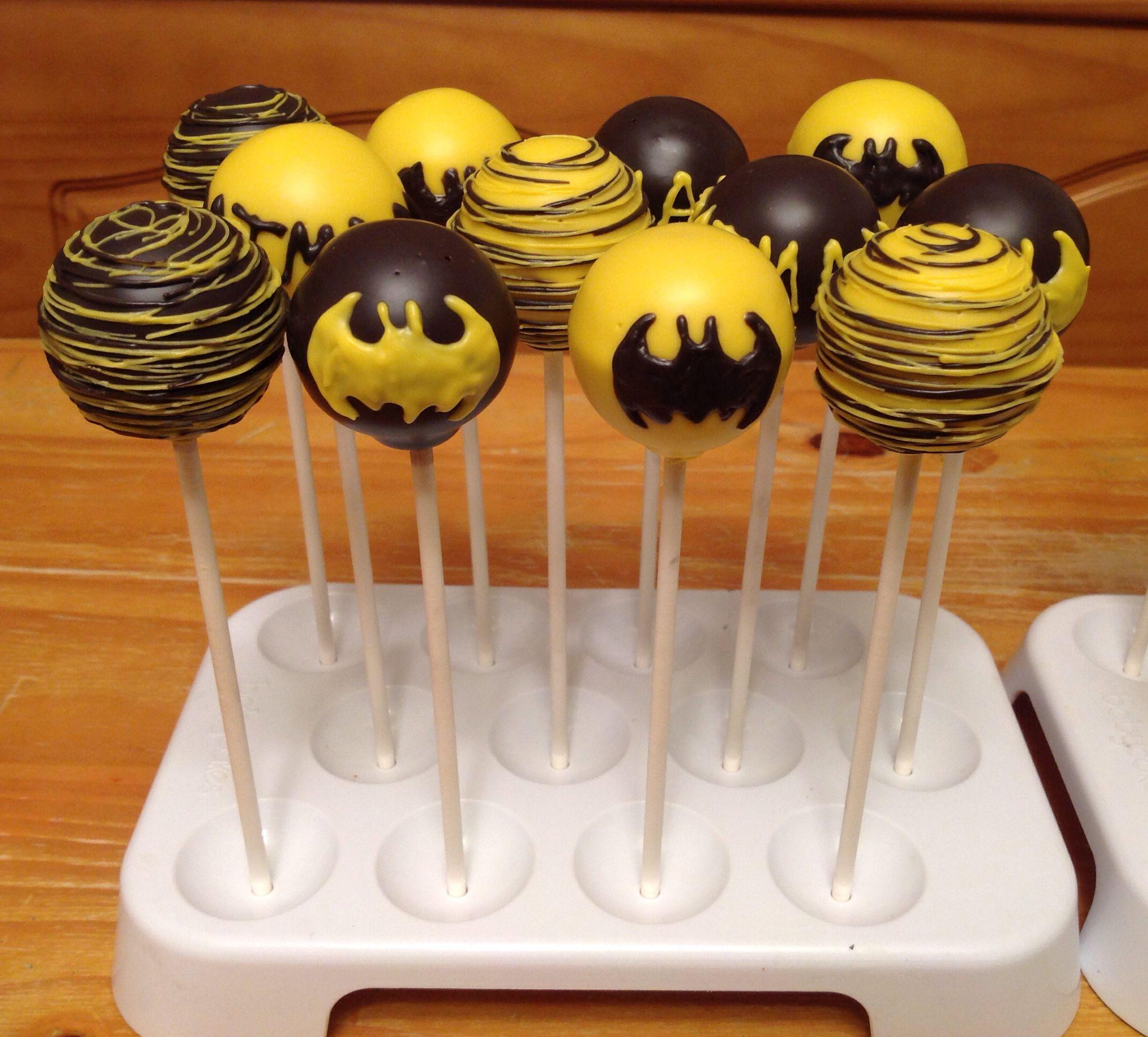 Lego Batman Cake Pops Cake Recipe