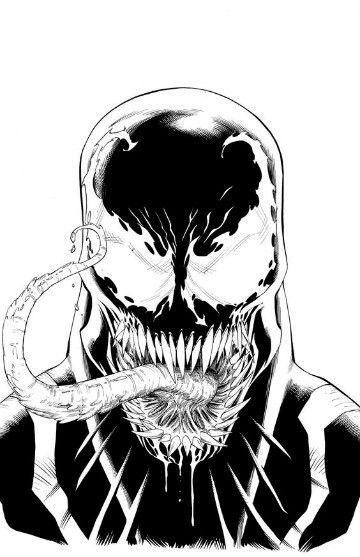 dibujos de venom para colorear | Personajes de comic | Venom