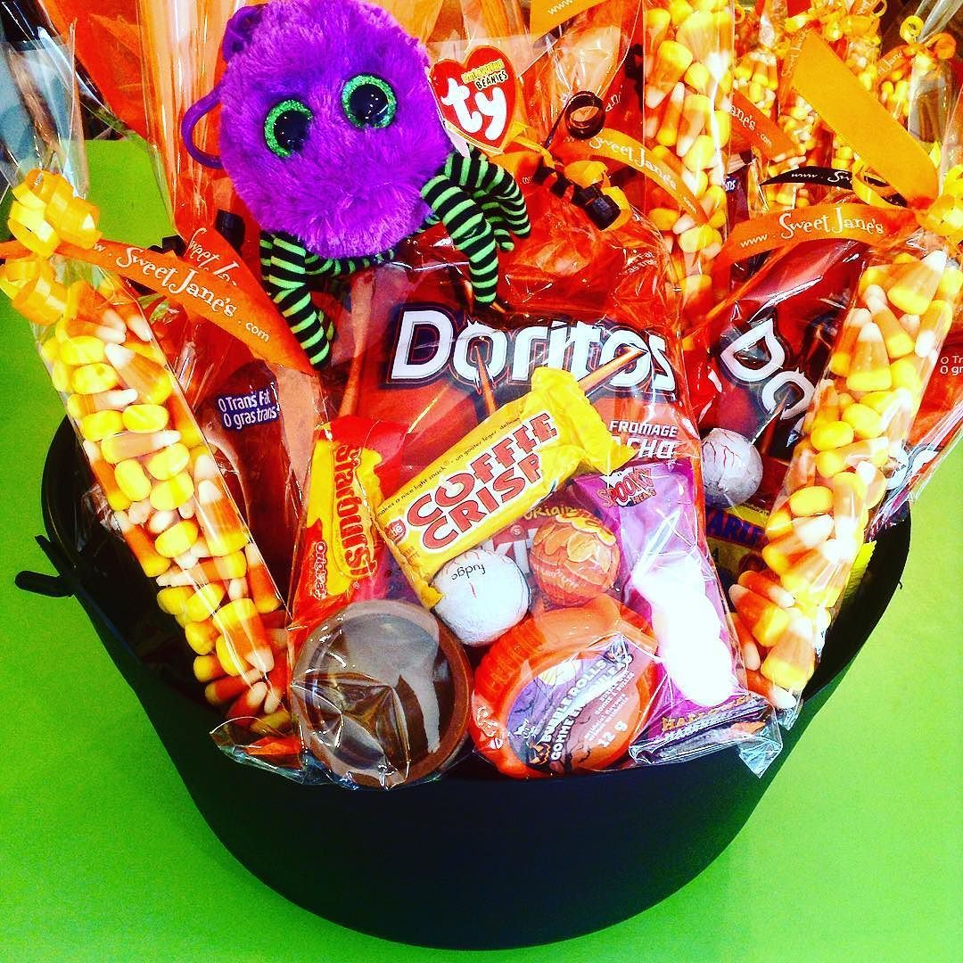 We Ve Got A Cauldron Full Of Goodies Brewing For Halloween Halifax Treat Bags And Candy Bags Sweetjanes Sweet Candy Bags Goodies