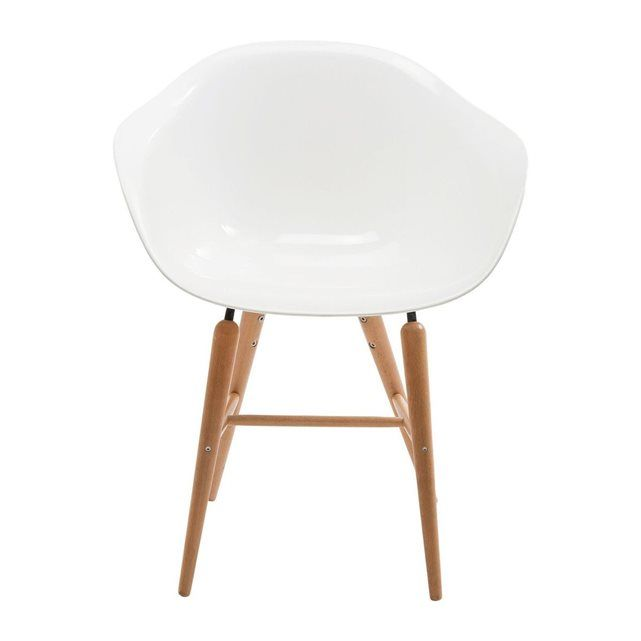 Chaise Avec Accoudoirs Forum Blanche Kare Design Kare Design Dining Room Chairs Chair Eames Chair