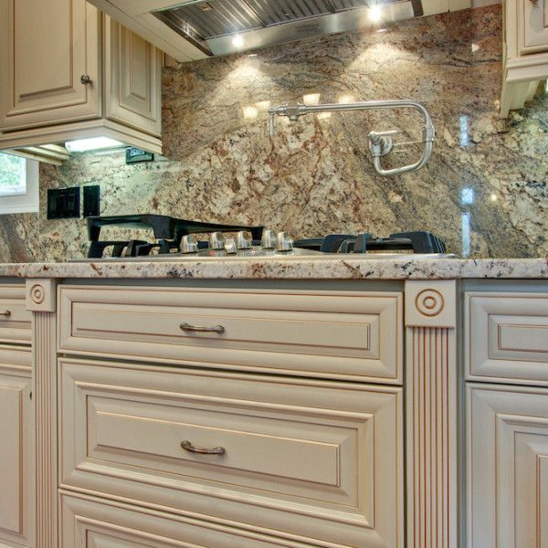 Discount Wood Kitchen Cabinets: Vanilla Maple - Color Sample In 2019