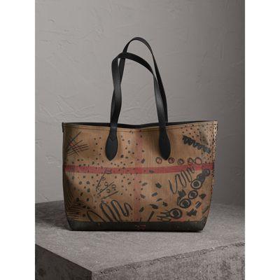 burberry bag canvas