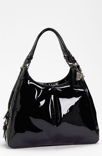 COACH 'Madison Maggie' Patent Leather Hobo