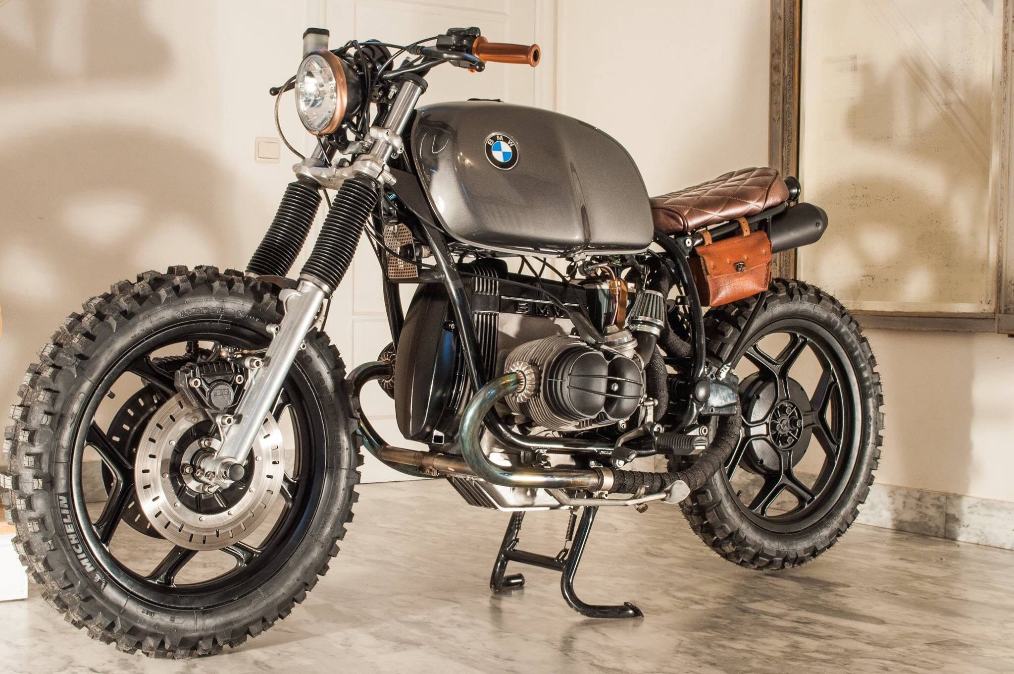 VMD02 BMW SCRAMBLER By Vintage Moto Design Yet Another Story About A R80 That Is Pursuing The Dream To Become Scrambler