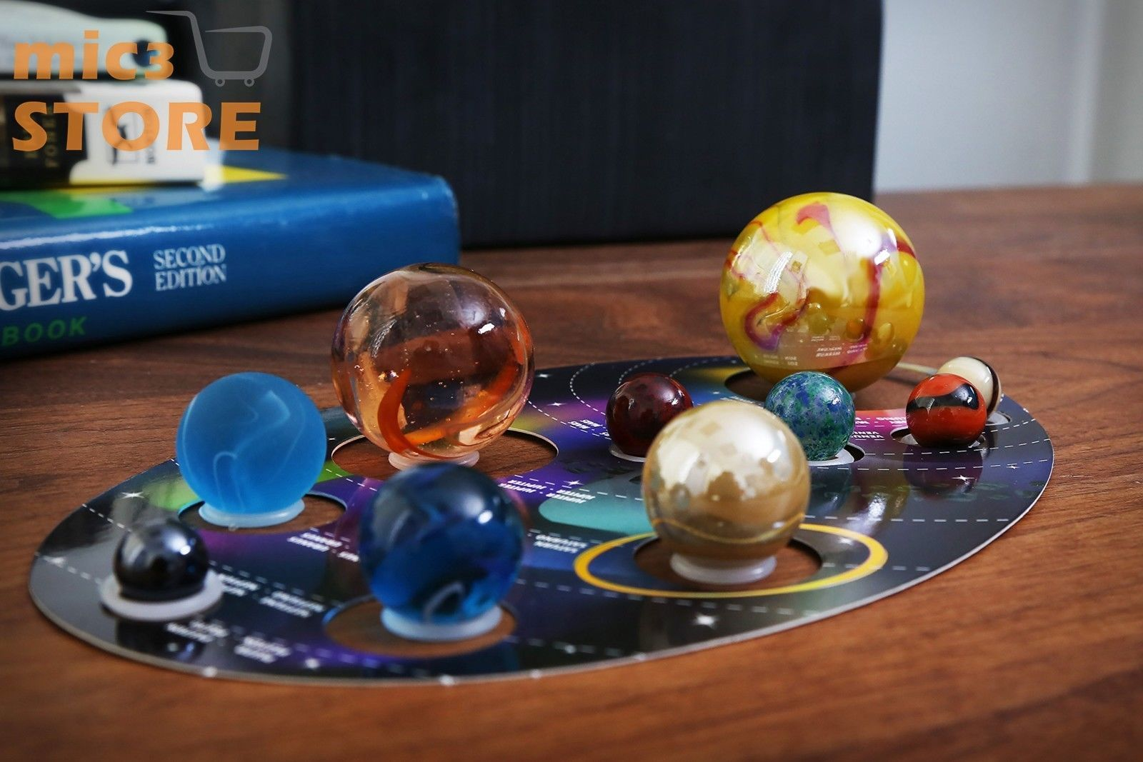 Marble Set Solar System Christmas Gift For Kids Toys Game Children 5 Snap Circuits Kit Education Toy Science Hobby New Ebay Year And Up