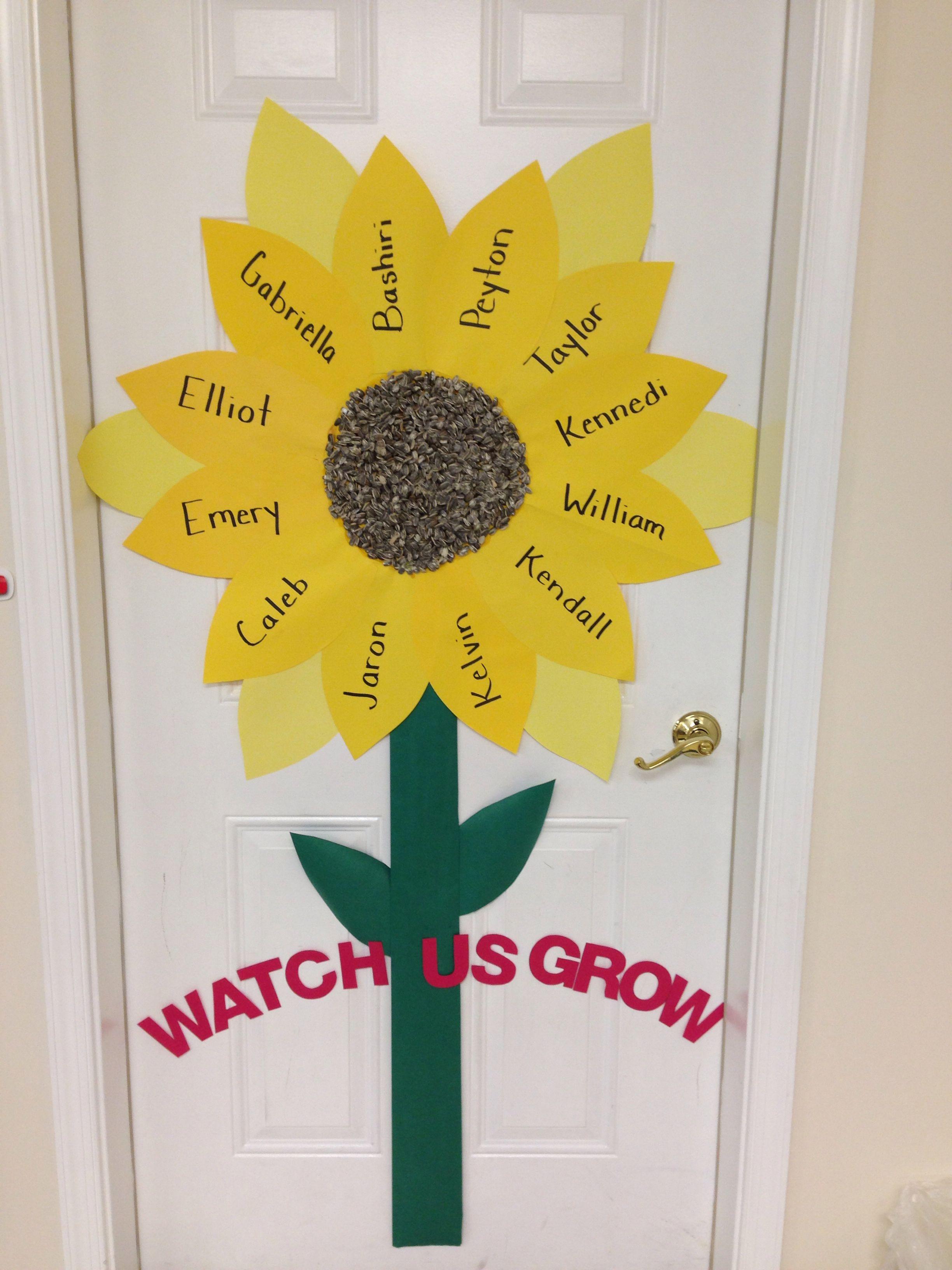 Watch Us Grow Sunflower W Sunflower Seeds