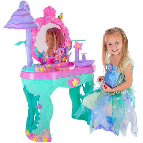 "Disney Princess Ariel's Magical Talking Salon - Creative Designs - Toys ""R"" Us"