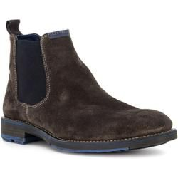 Photo of Sioux Chelsea-Boots Herren, Velours, braun Sioux
