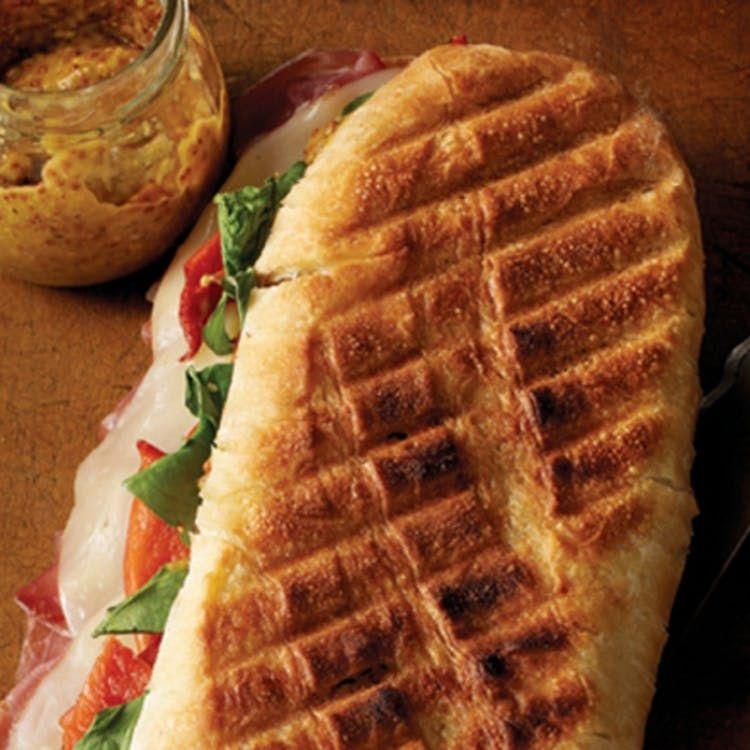 Photo of Grilled prosciutto provolone panini