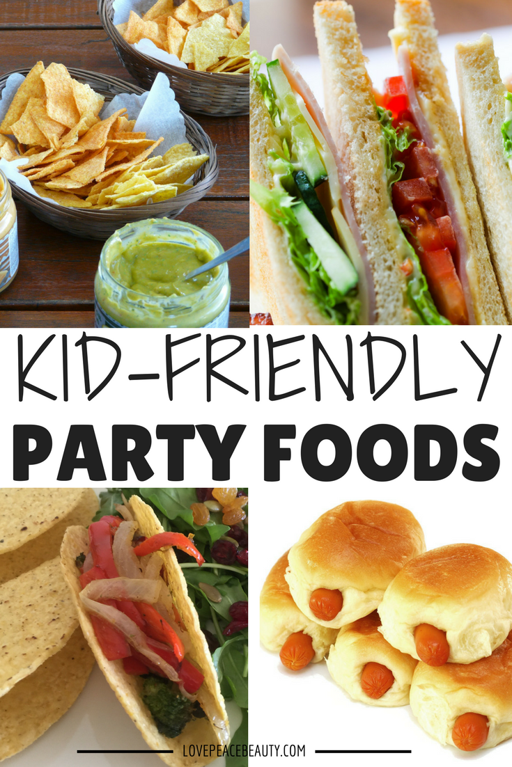 Have you tried these kidfriendly birthday party foods