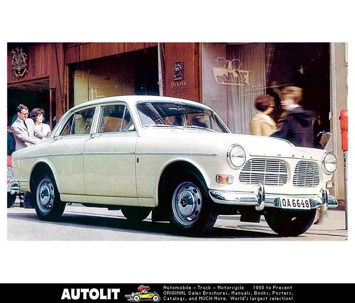 This Is A Brochure Pic Of My First Car A Volvo 122s Got Me Through High School College And The First Couple Years Of Marriage Volvo Volvo Amazon Photo