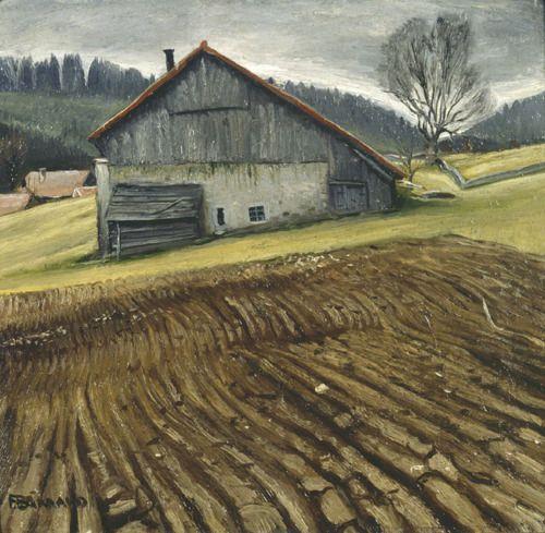 """""""Paysage de Labour"""" ...   Francois Emile Barraud  1929"""