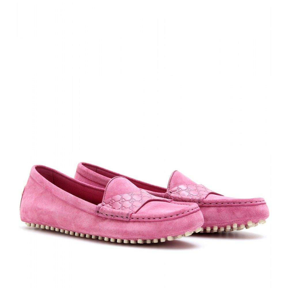 Bubble Gum Pink Gucci Loafers....Only $400. *sigh ...